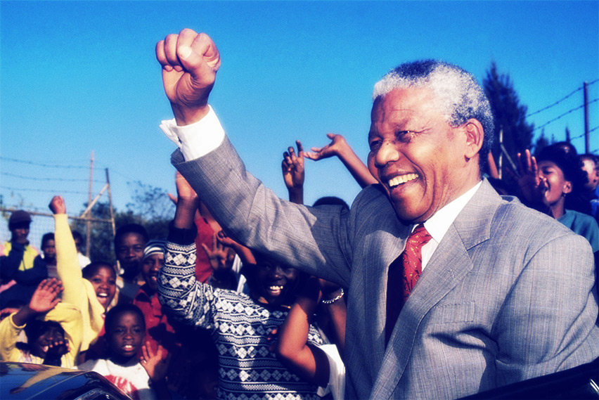 Superação para Concurso: Nelson Mandela