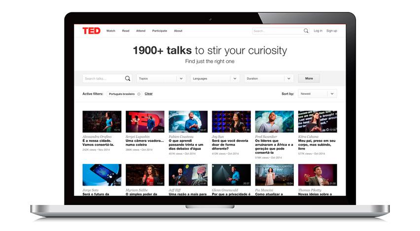 TED Talks para concurso