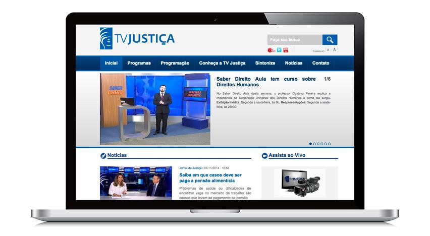Estudando grátis para Concurso - TV Justiça