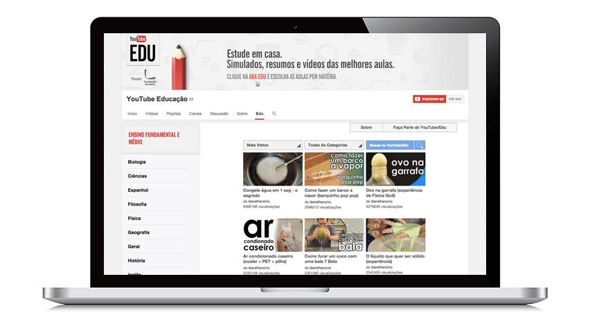 Youtube EDU para Concurso