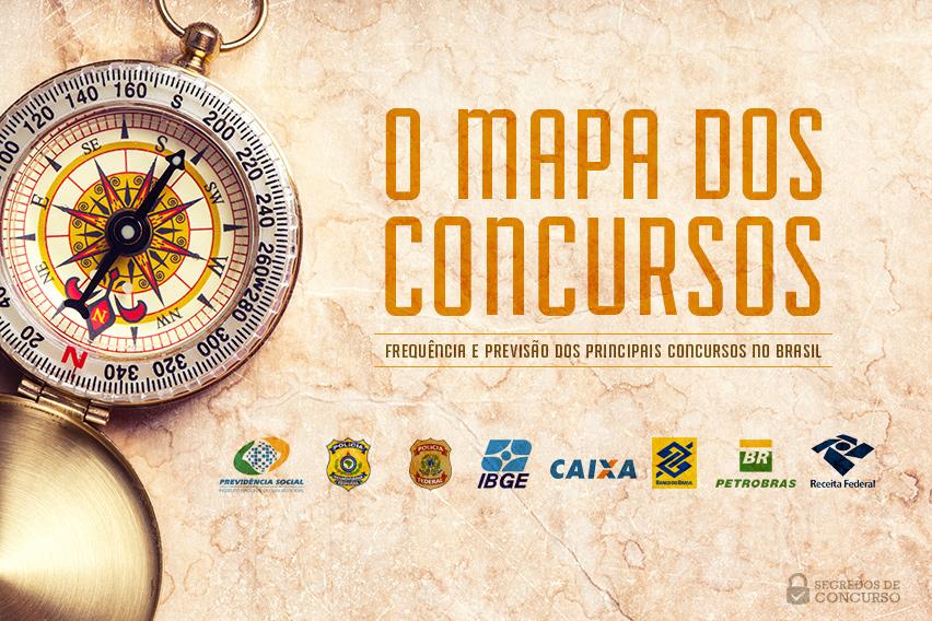 Mapa dos Concursos 2015