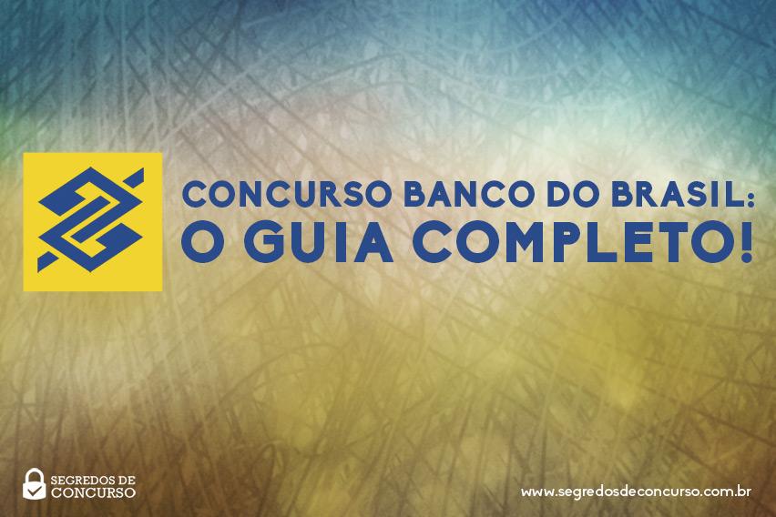 Guia Concurso Banco do Brasil