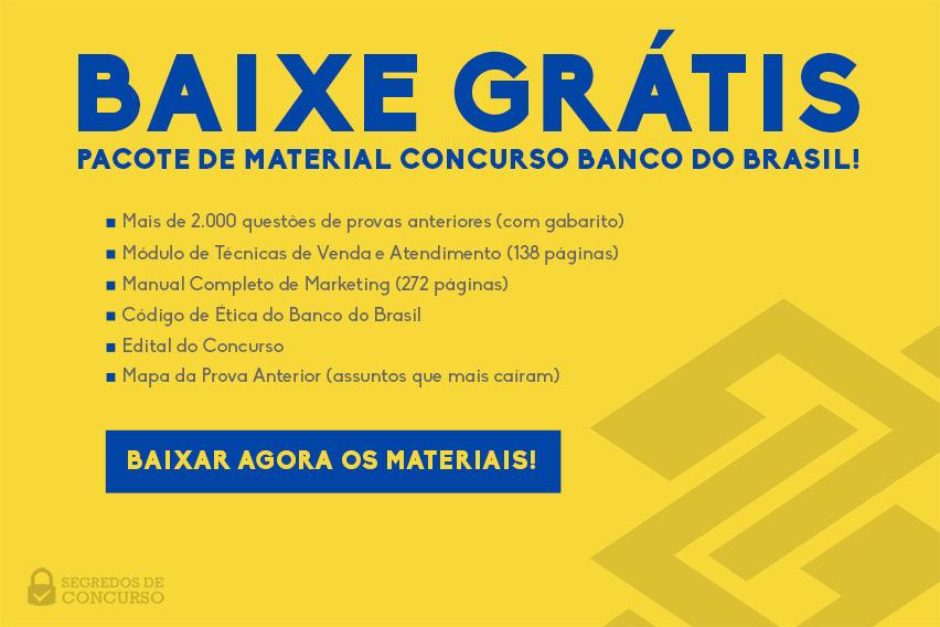 Baixar materiais escriturários Banco do Brasil