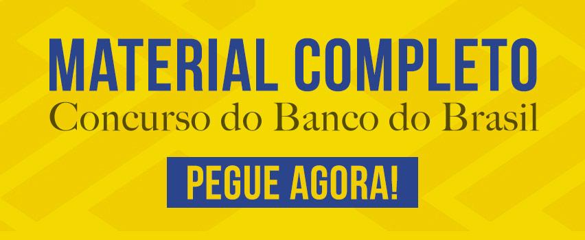 Material Concurso Banco do Brasil