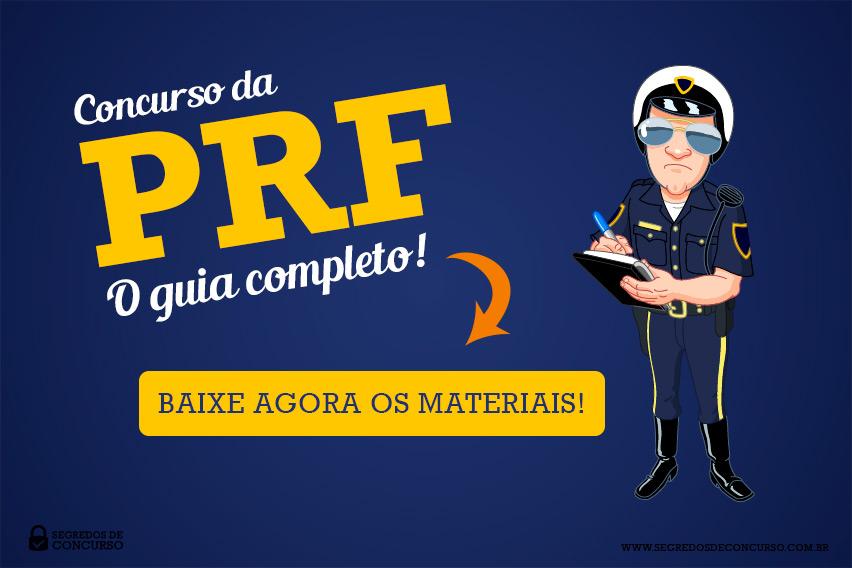 Pacote de Materiais Concurso PRF