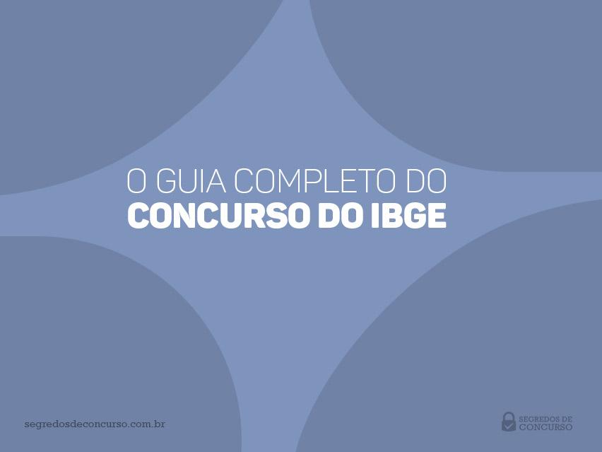 Material do Concurso IBGE