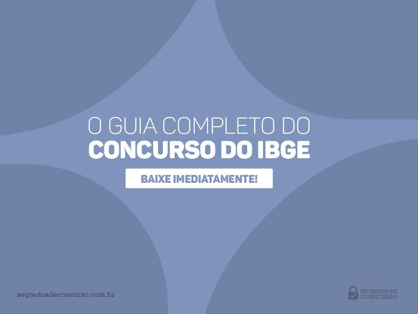Pacote de Material do Concurso IBGE