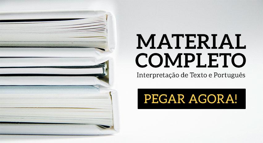 Material de Interpretação de Texto para Concurso