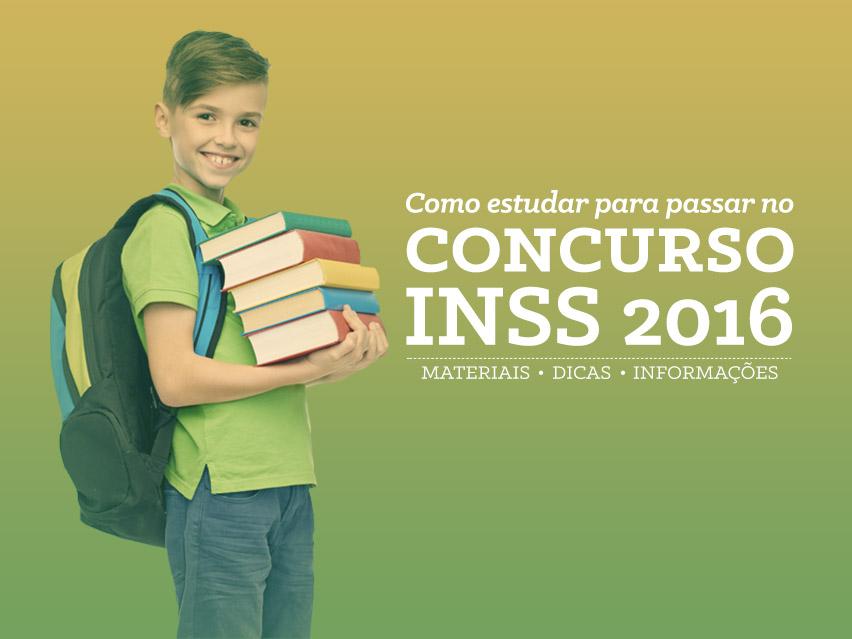 Técnico INSS 2016