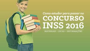 Concurso Técnico INSS 2016