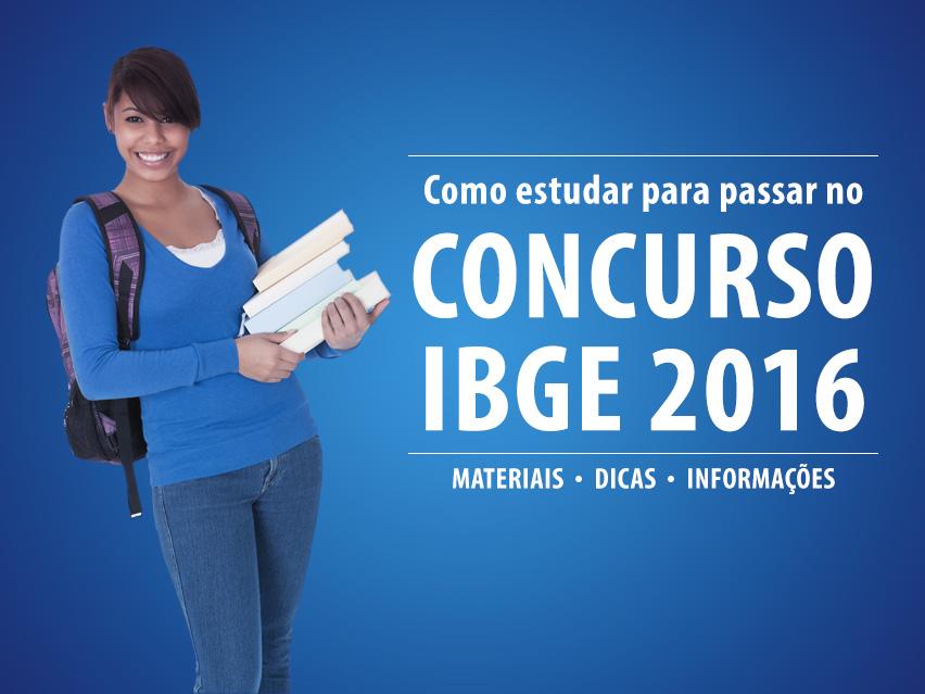Concurso IBGE 2016