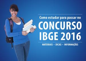 Como estudar para passar no Concurso IBGE 2016