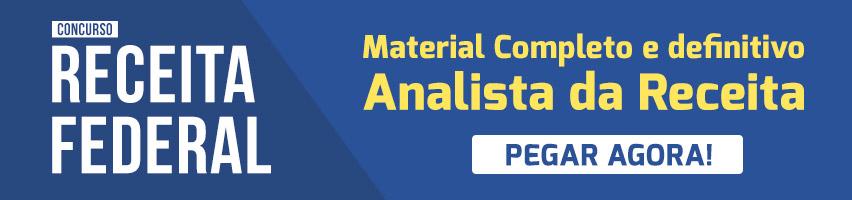 Material Analista Receita Federal