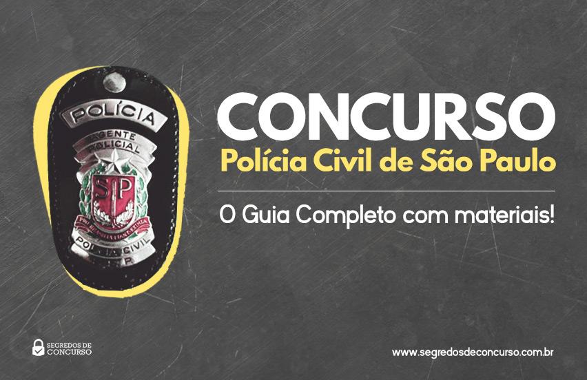 Concurso Polícia Civil São Paulo