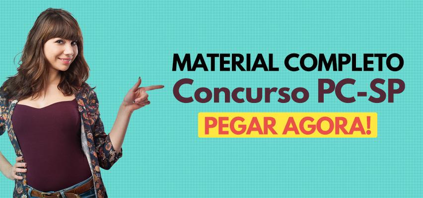 Material Concurso PC-SP