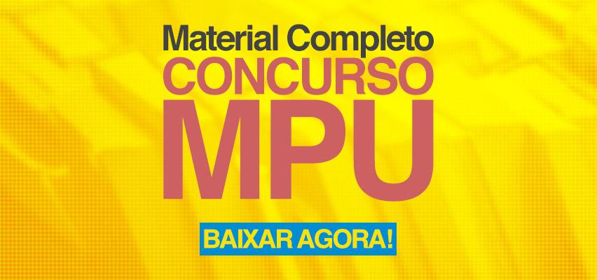 Material Concurso MPU 2017