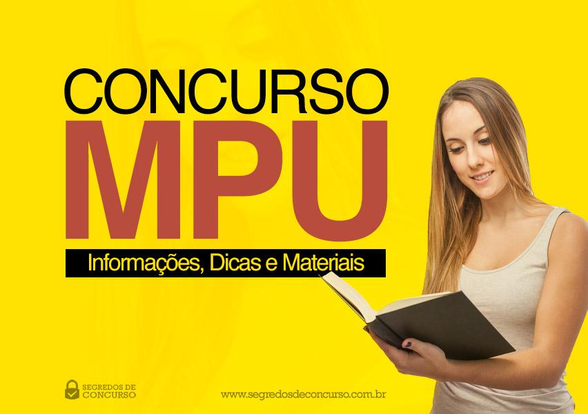 Concurso MPU 2017