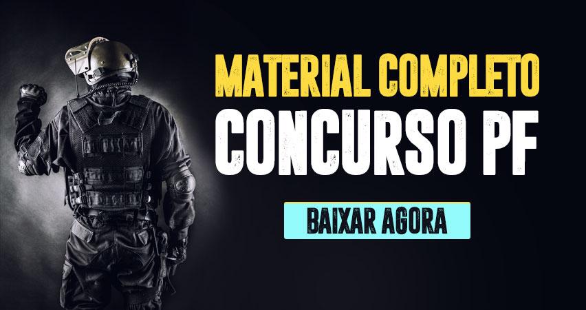 Material Concurso Agente PF