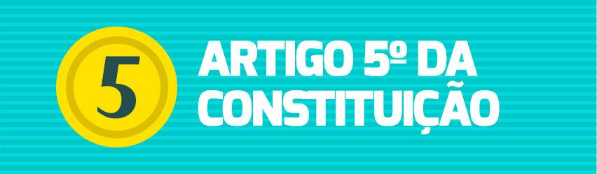 Artigo 5ºda Constituição - Resumo de Direito