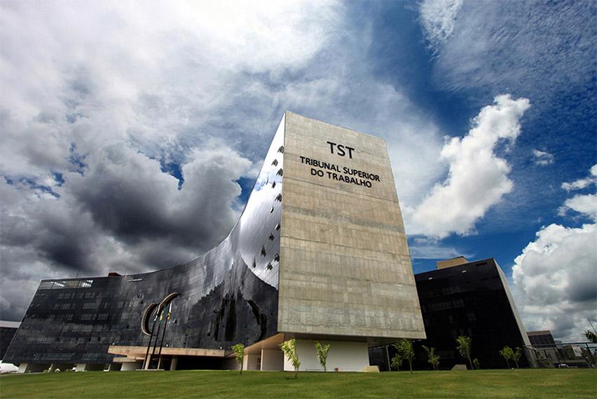 O Tribunal Superior do Trabalho (TST). Foto: Divulgação