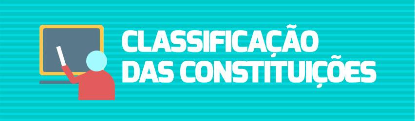 A classificação das Constituições