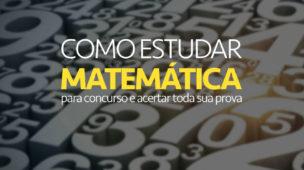 Matemática para concurso
