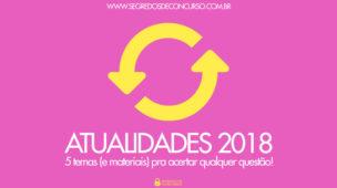 Atualidades 2018