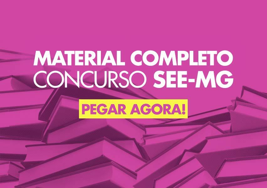 Apostila Concurso SEE-MG