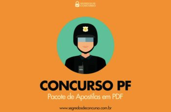 Concurso PF – Pacote de apostilas em PDF