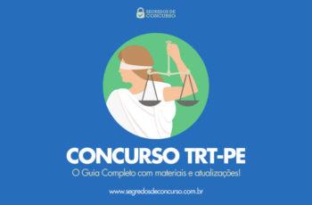 Concurso TRT-PE: o Guia Completo com materiais e atualizações!