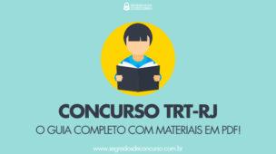 Concurso TRT-RJ