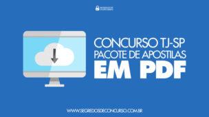 Download Apostila Concurso TJ-SP em PDF