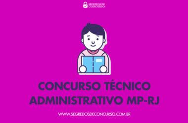 Concurso Técnico Administrativo MP-RJ – Apostilas em PDF e dicas!